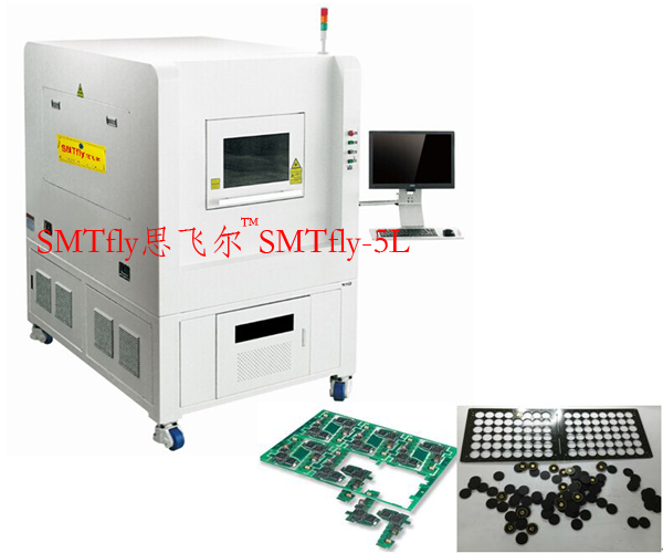 PCB Depaneling Machine with UV Laser from China,SMTfly-5L