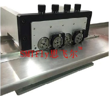 4 Blade Sets Aluminum PCB Cutting Machine