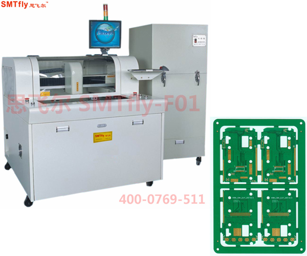 CNC Router Machine for Milling PCB Panels,SMTfly-F01