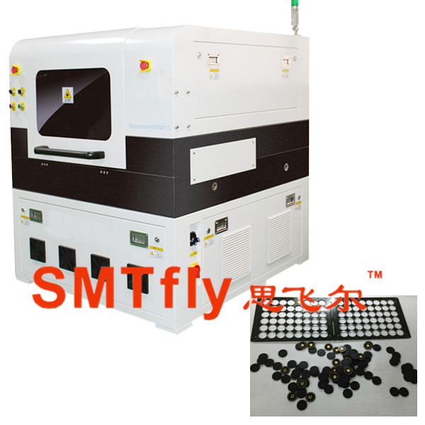 laser pcb cutting machine with 10W laser imported from USA
